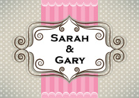 Sarah and Gary's Photo Booth